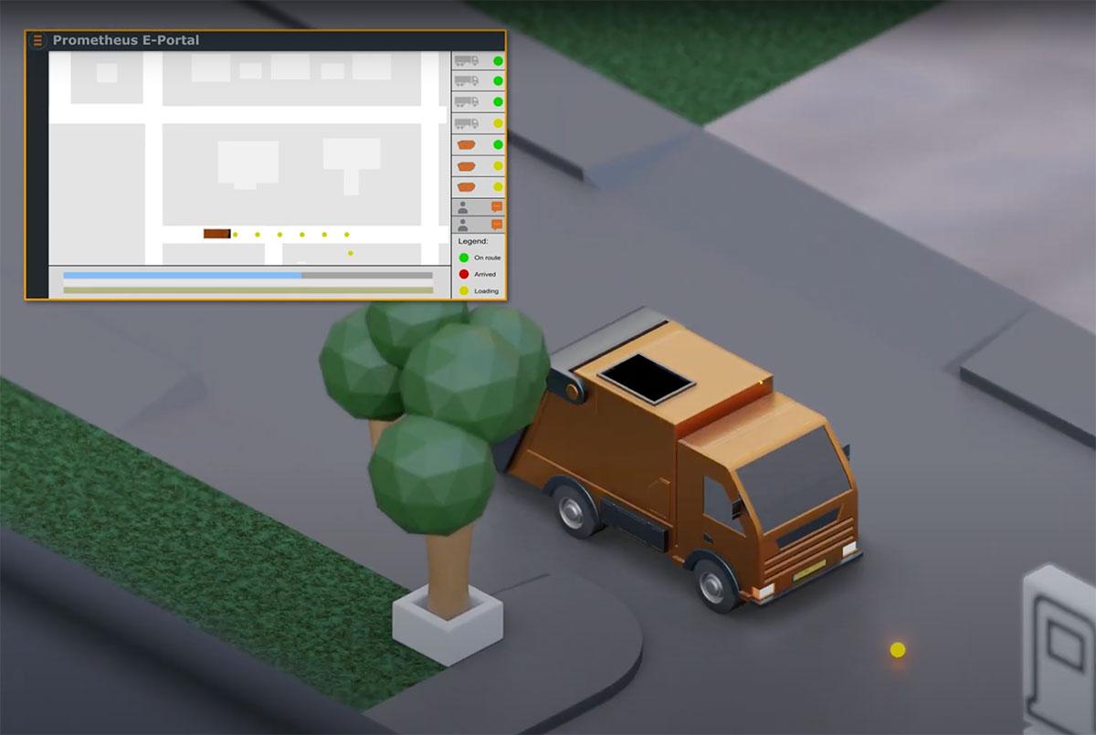 Video, met complete zichtbaarheid en controle over uw wagenpark